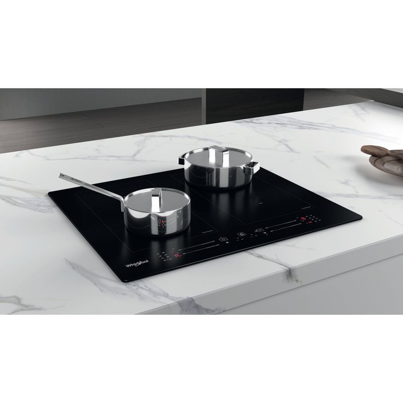 Whirlpool-Table-de-cuisson-WL-S1360-NE-Noir-Induction-vitroceramic-Lifestyle-perspective