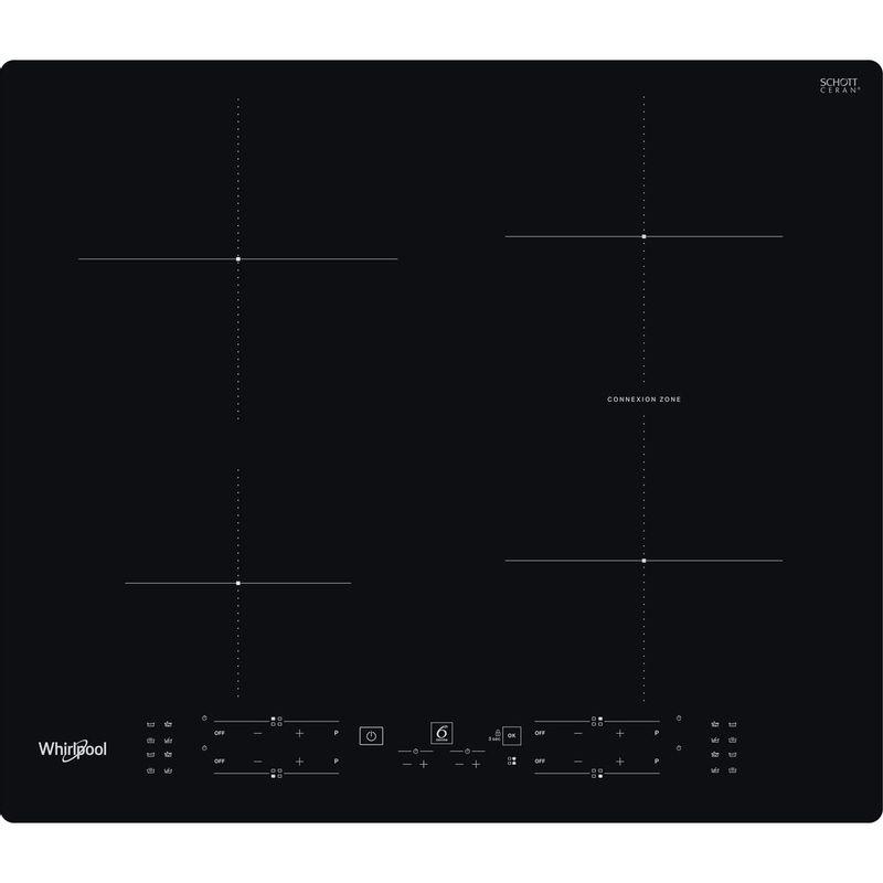 Whirlpool-Table-de-cuisson-WB-B8360-NE-Noir-Induction-vitroceramic-Frontal