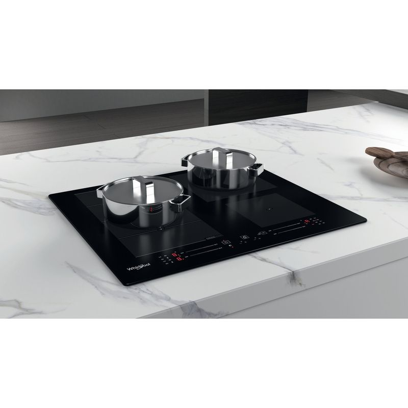 Whirlpool-Table-de-cuisson-WF-S0160-NE-Noir-Induction-vitroceramic-Lifestyle-perspective