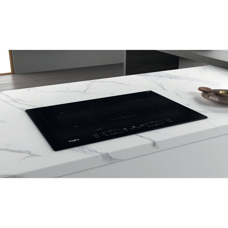 Whirlpool-Table-de-cuisson-WL-B2977-NE-Noir-Induction-vitroceramic-Lifestyle-perspective