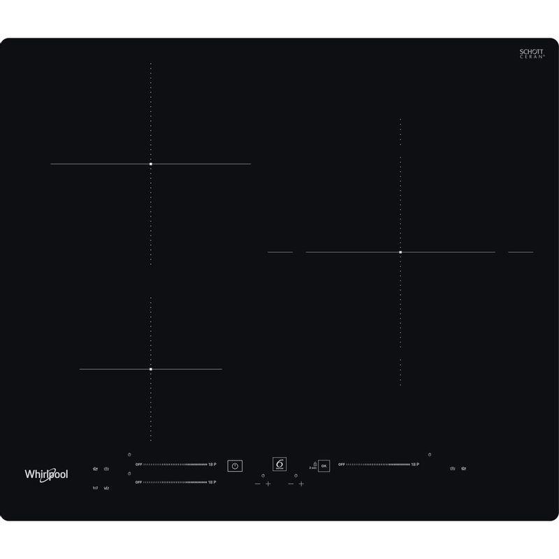 Whirlpool-Table-de-cuisson-WS-S8460-NE-Noir-Induction-vitroceramic-Frontal