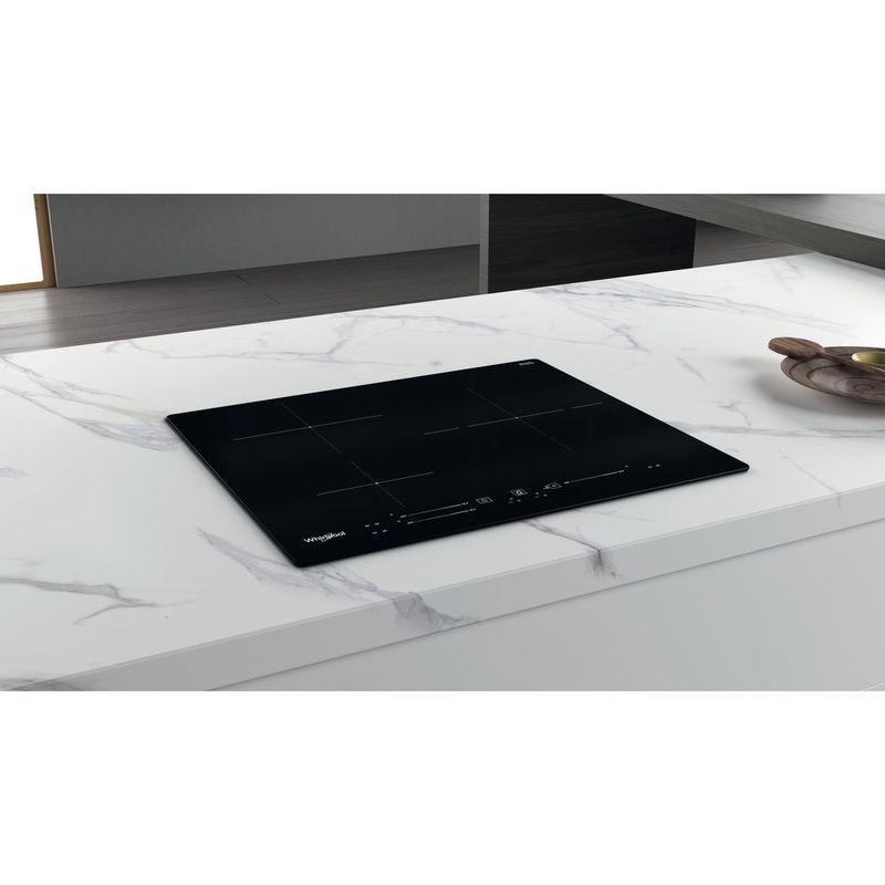 Whirlpool-Table-de-cuisson-WS-S8460-NE-Noir-Induction-vitroceramic-Lifestyle-perspective