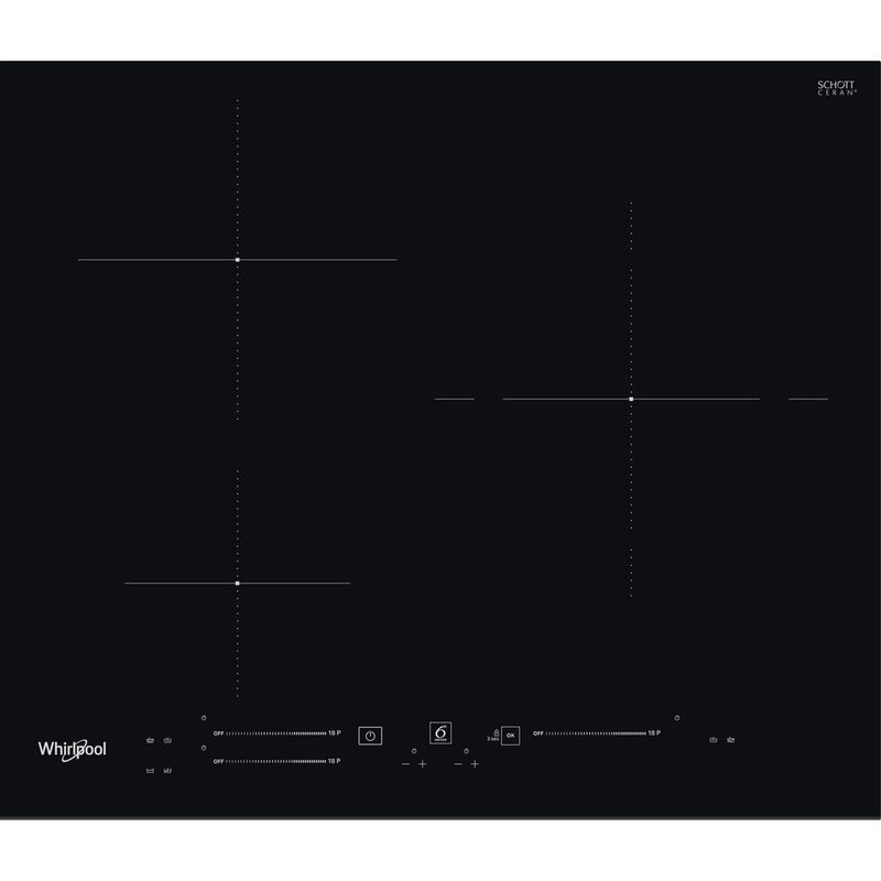 Whirlpool-Table-de-cuisson-WS-S6360-BF-Noir-Induction-vitroceramic-Frontal