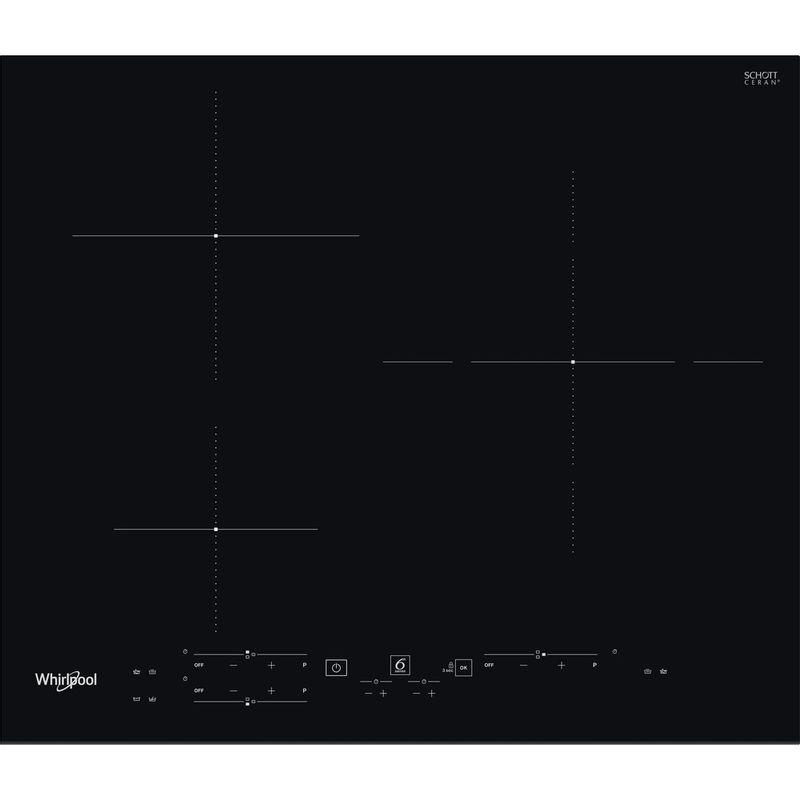Whirlpool-Table-de-cuisson-WS-B2360-BF-Noir-Induction-vitroceramic-Frontal