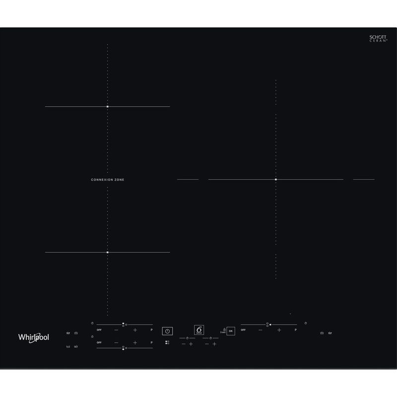 Whirlpool-Table-de-cuisson-WB-B3760-BF-Noir-Induction-vitroceramic-Frontal