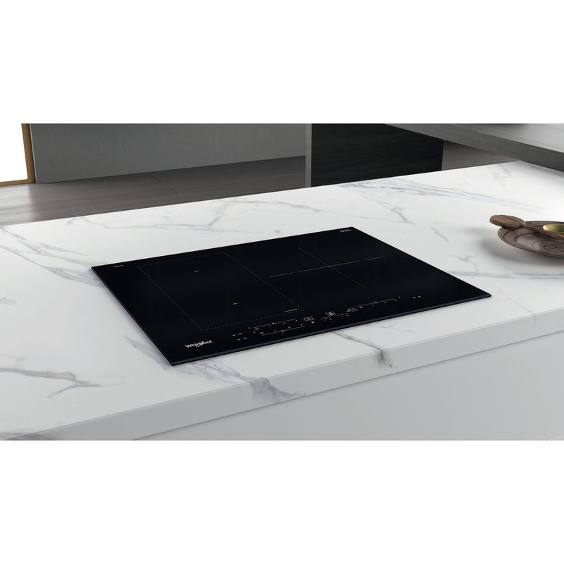 Whirlpool-Table-de-cuisson-WL-B3965-BF-IXL-Noir-Induction-vitroceramic-Lifestyle-perspective