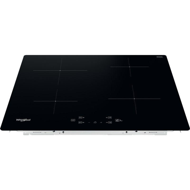 Whirlpool-Table-de-cuisson-WS-Q2160-NE-Noir-Induction-vitroceramic-Frontal-top-down