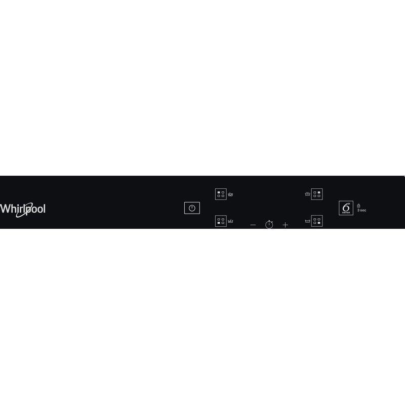 Whirlpool-Table-de-cuisson-WS-Q2160-NE-Noir-Induction-vitroceramic-Control-panel