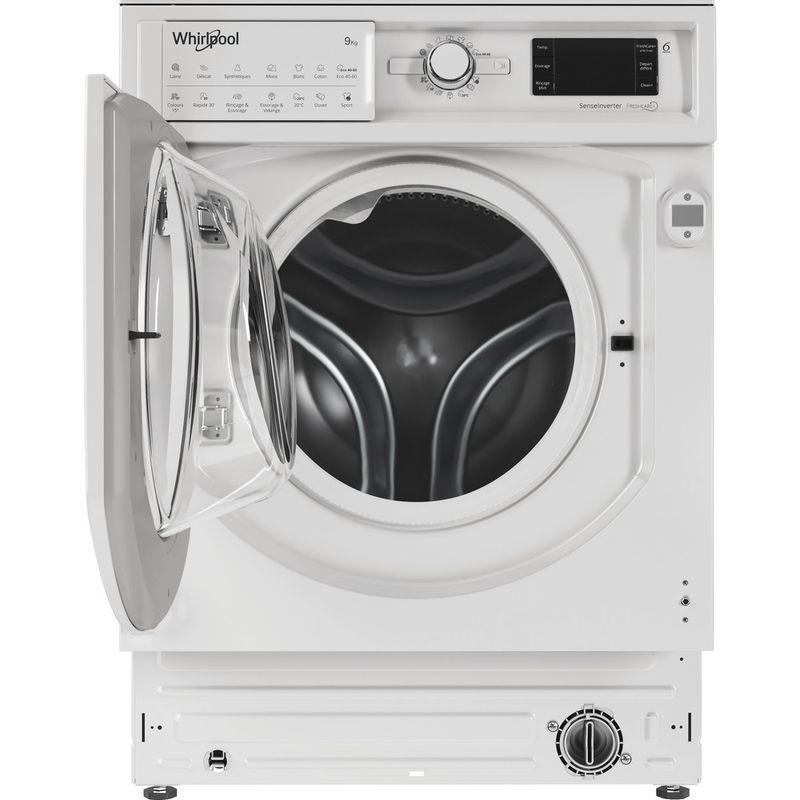 Whirlpool-Lave-linge-Encastrable-BI-WMWG-91484-FR-Blanc-Lave-linge-frontal-C-Frontal-open