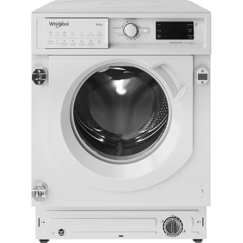 Whirlpool-Lavante-sechante-Encastrable-BI-WDWG-961484-FR-Blanc-Lave-linge-frontal-Frontal