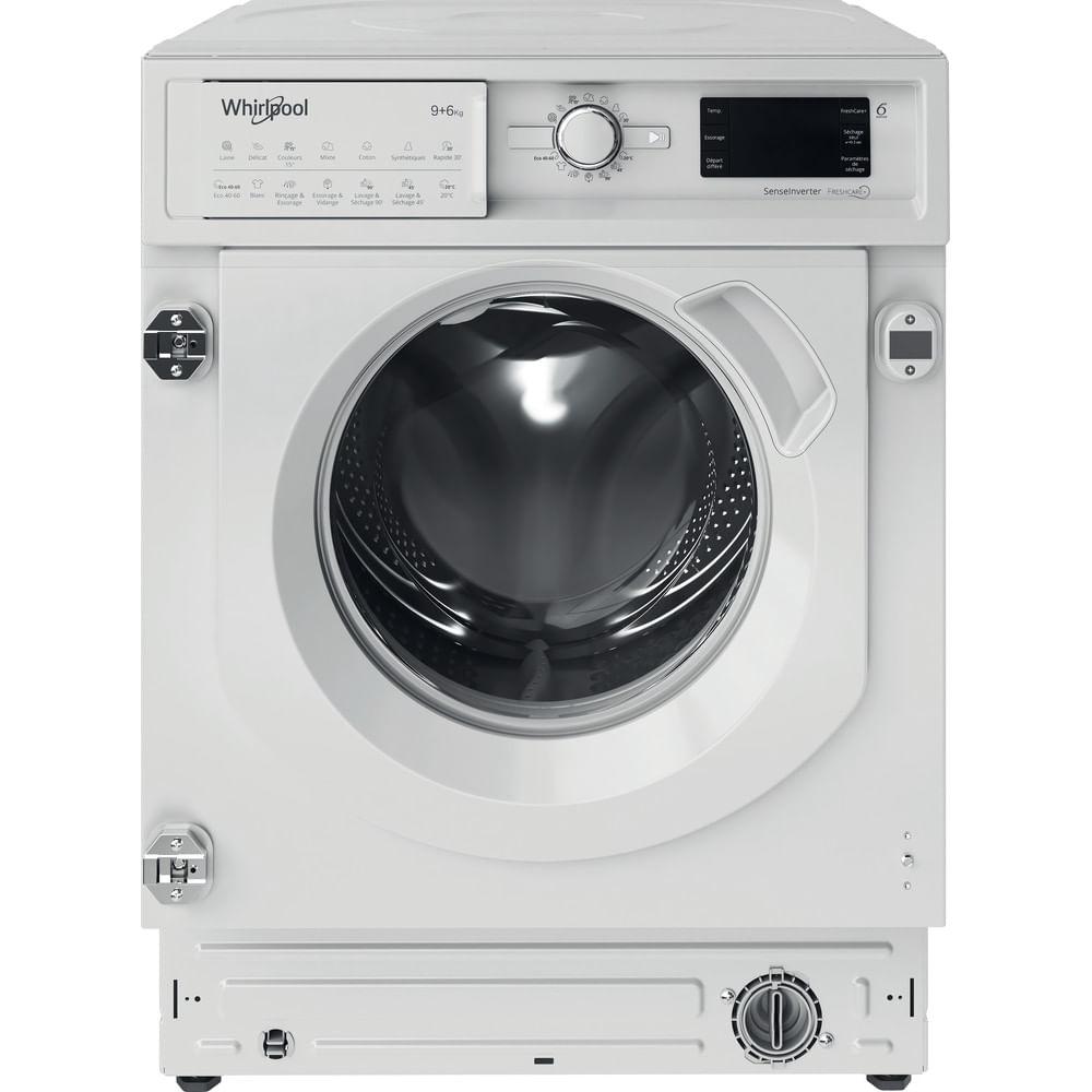 Whirlpool Lavante séchante encastrable BI WDWG 961484 FR : consultez les spécificités de votre appareil et découvrez toutes ses fonctions innovantes pour votre famille et votre maison.