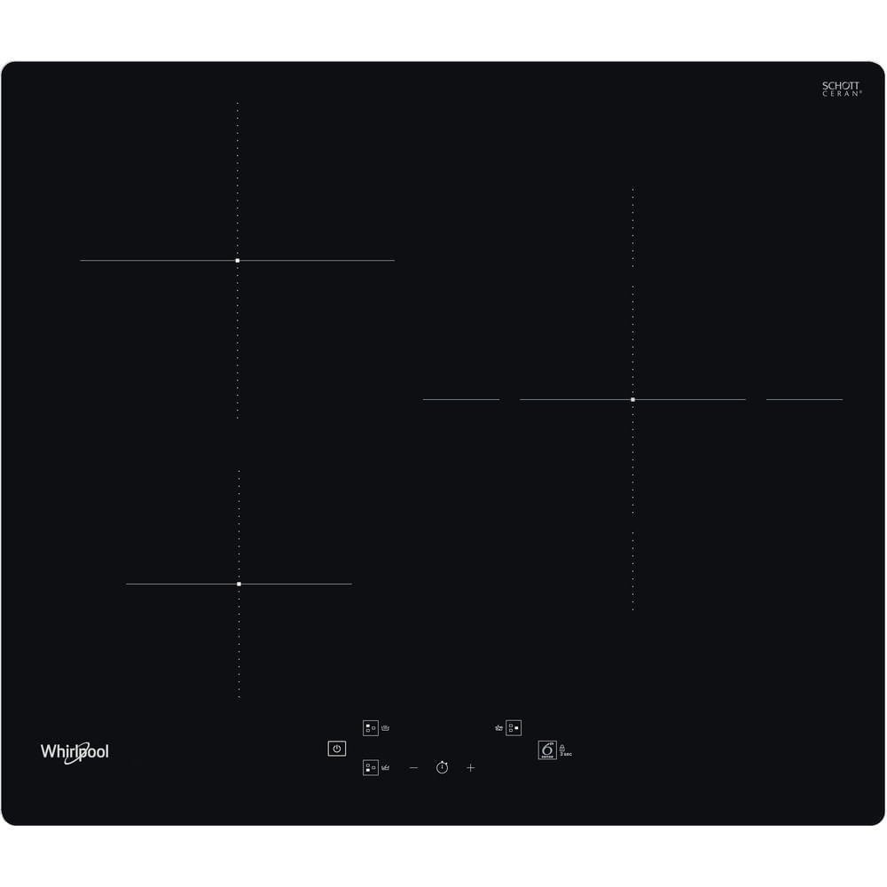 Whirlpool Plaque induction WS Q1160 NE : consultez les spécificités de votre appareil et découvrez toutes ses fonctions innovantes pour votre famille et votre maison.