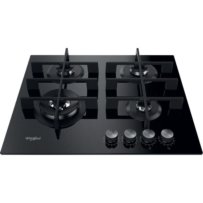 Whirlpool-Table-de-cuisson-GOWL-628-NB-FR-Noir-Gaz-Frontal-top-down
