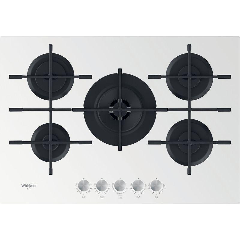 Whirlpool-Table-de-cuisson-GOWL-758-WH-Blanc-Gaz-Frontal