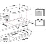 Whirlpool-Table-de-cuisson-GOWL-758-WH-Blanc-Gaz-Technical-drawing