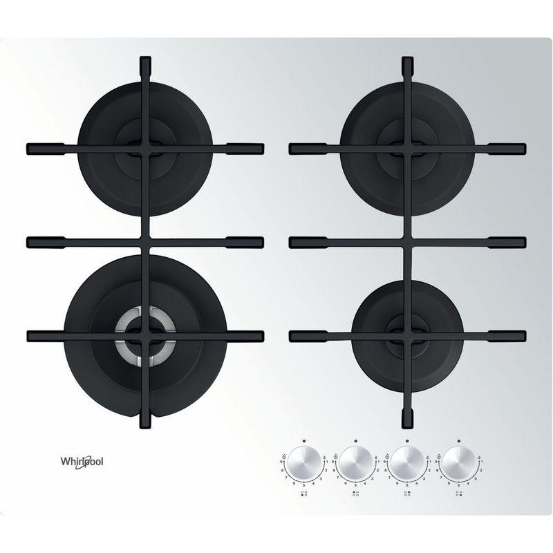 Whirlpool-Table-de-cuisson-GOWL-628-WH-Blanc-Gaz-Frontal
