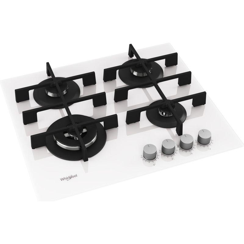 Whirlpool-Table-de-cuisson-GOWL-628-WH-Blanc-Gaz-Perspective