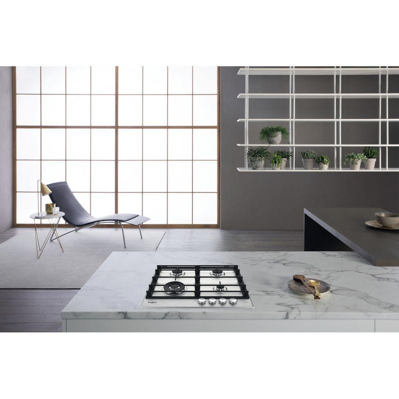 Whirlpool-Table-de-cuisson-GMWL-628-IXL-FR-Inox-Ixelium-Gaz-Lifestyle-frontal-top-down