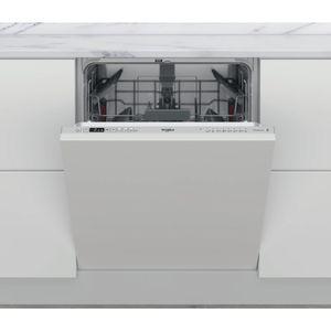 Lave-vaisselle encastrable couleur argent WRIC 3C34 PE