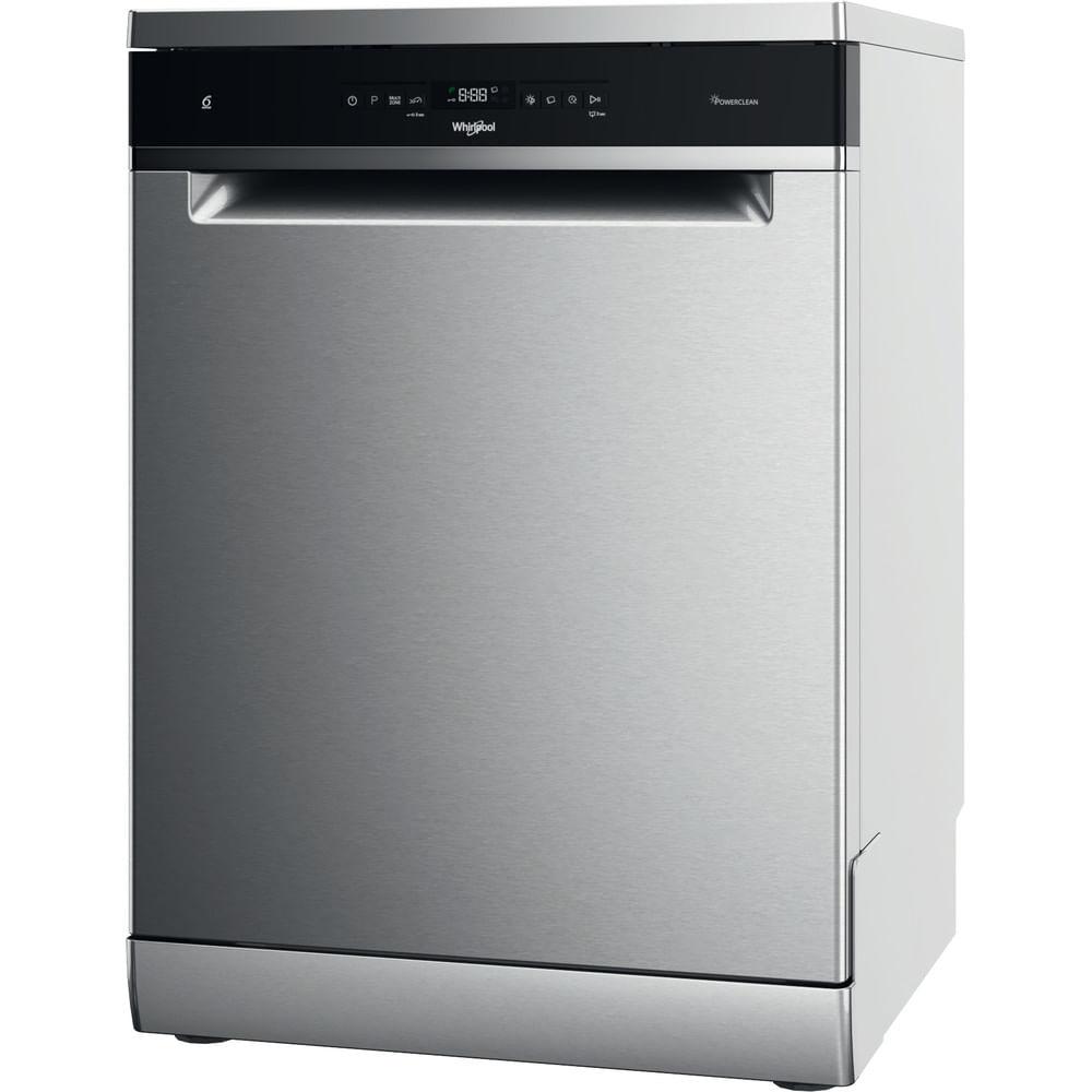 Achetez en ligne le lave-vaisselle pose-libre WFO 3O41 PL X couleur inox en vente sur Whirlpool au meilleur prix et profitez de la livraison gratuite à domicile.