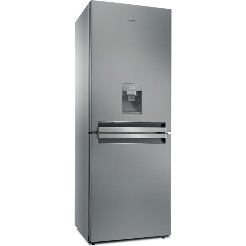 Whirlpool-Combine-refrigerateur-congelateur-Pose-libre-BTNF-5012-OX-AQUA2-Inox-2-portes-Perspective