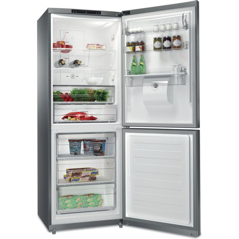 Whirlpool-Combine-refrigerateur-congelateur-Pose-libre-BTNF-5012-OX-AQUA2-Inox-2-portes-Perspective-open