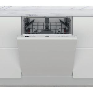 Lave-vaisselle encastrable Whirlpool: couleur argent, standard - WKIC 3C26