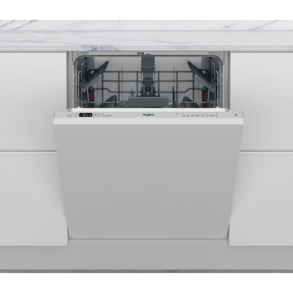 Whirlpool Lave-vaisselle encastrable WKIC 3C26 : consultez les spécificités de votre appareil et découvrez toutes ses fonctions innovantes pour votre famille et votre maison.
