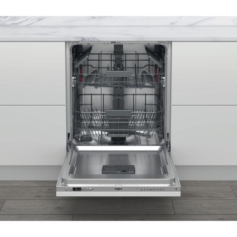 Whirlpool-Lave-vaisselle-Encastrable-WKIC-3C26-Tout-integrable-E-Frontal-open
