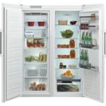 Whirlpool-Refrigerateur-Pose-libre-SW6-A2Q-W-F-2-Blanc-Frontal-open