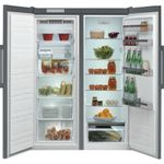 Whirlpool-Refrigerateur-Pose-libre-SW6-A2Q-X-2-Optic-Inox-Frontal-open