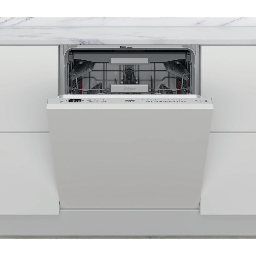 Découvrez toutes les fonctionnalités du lave-vaisselle encastrable couleur argent WKCIO 3T133 PFE en vente au meilleur sur la boutique en ligne de Whirlpool.