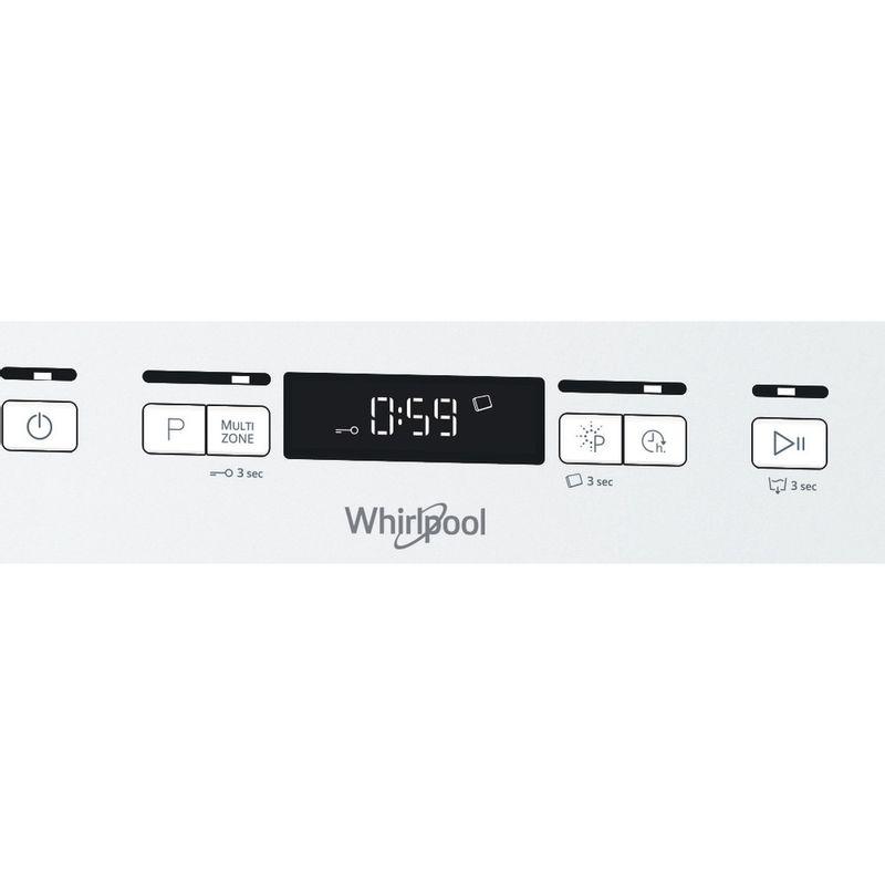 Whirlpool-Lave-vaisselle-Pose-libre-WFC-3C42-P-Pose-libre-C-Control-panel