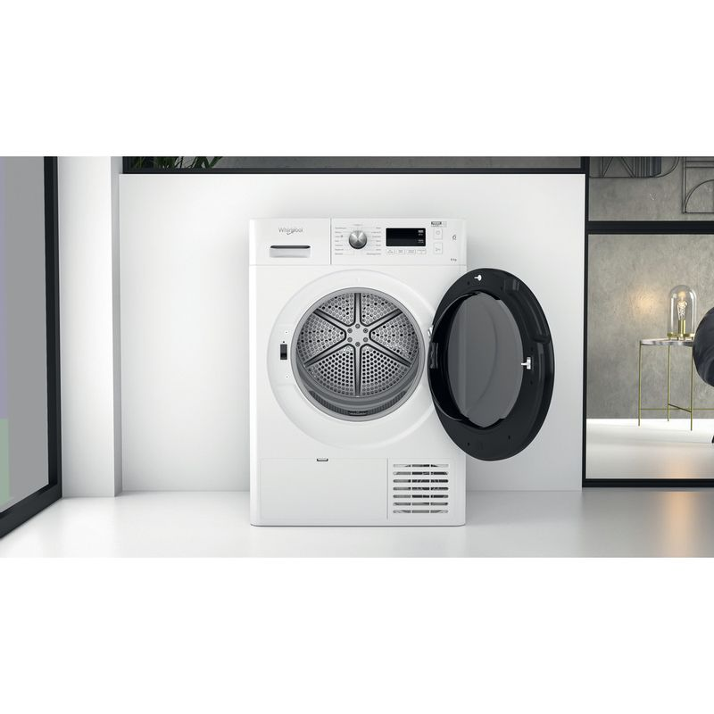 Whirlpool-Seche-linge-FFT-SM11-82B-FR-Blanc-Lifestyle-frontal-open