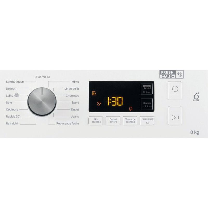 Whirlpool-Seche-linge-FFT-SM11-82B-FR-Blanc-Control-panel