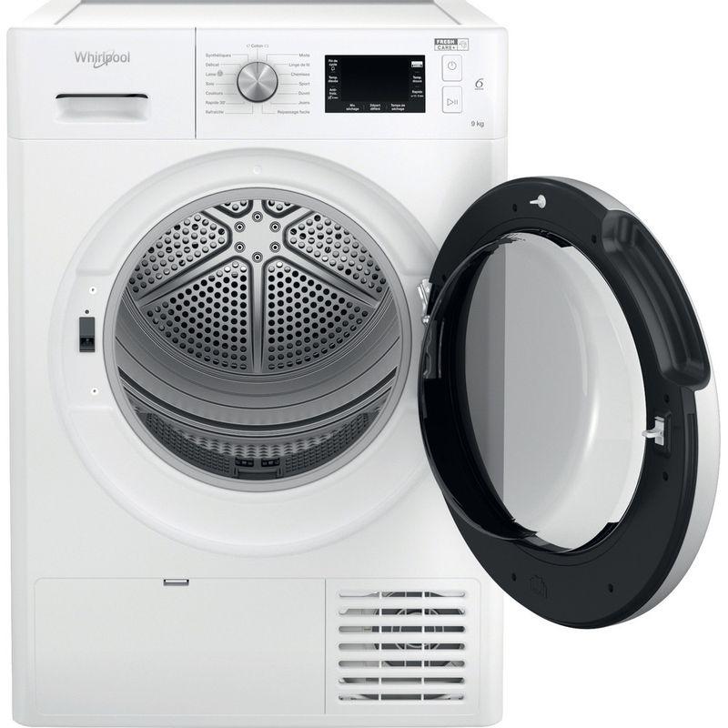 Whirlpool-Seche-linge-FFTD-M22-9X2BS-FR-Blanc-Frontal-open