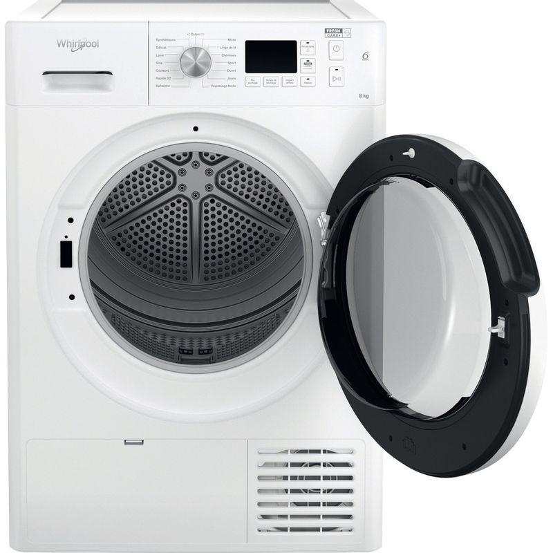Whirlpool-Seche-linge-FFT-CM10-8B-FR-Blanc-Frontal-open