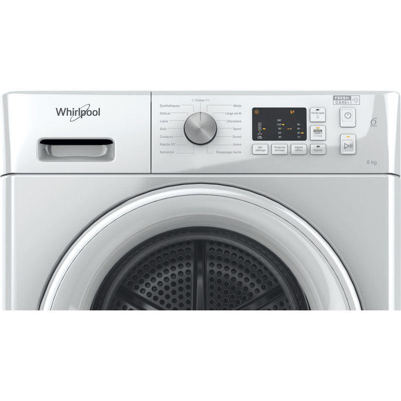 Whirlpool-Seche-linge-FFT-CM10-8B-FR-Blanc-Control-panel