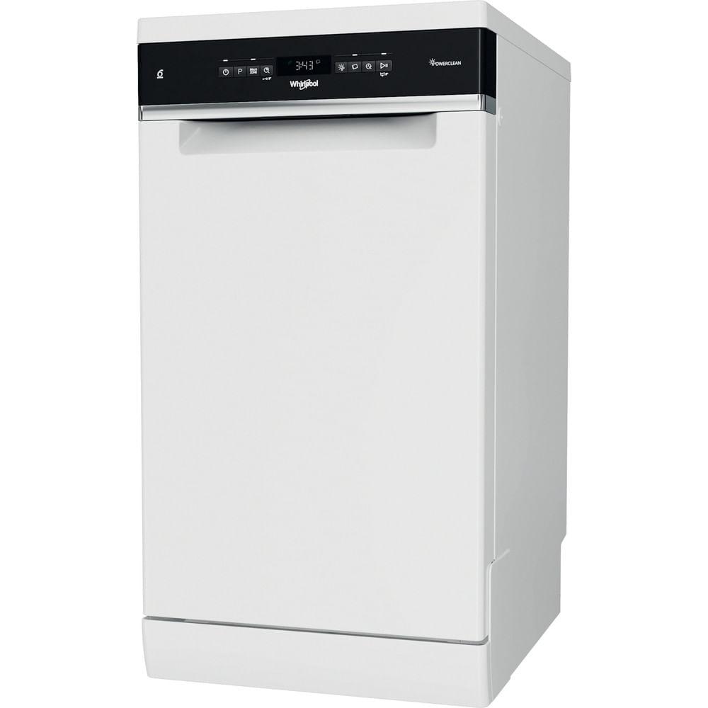 Whirlpool Lave-vaisselle posable WSFO 3T223 P : consultez les spécificités de votre appareil et découvrez toutes ses fonctions innovantes pour votre famille et votre maison.