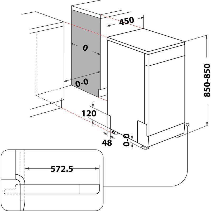 Whirlpool-Lave-vaisselle-Pose-libre-WSFO-3T223-P-Pose-libre-E-Technical-drawing