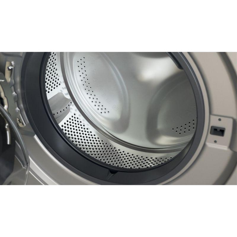Whirlpool-Lavante-sechante-Pose-libre-FWDG961483SBSVFR-N-Argent-Lave-linge-frontal-Drum
