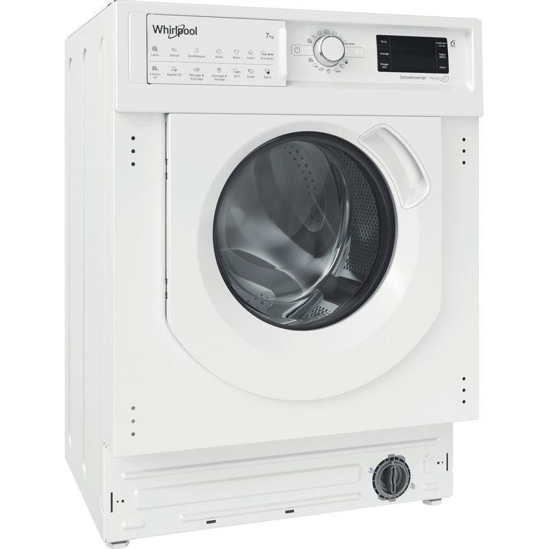 Whirlpool-Lavante-sechante-Encastrable-BI-WDWG-751482-EU-N-Blanc-Lave-linge-frontal-Perspective