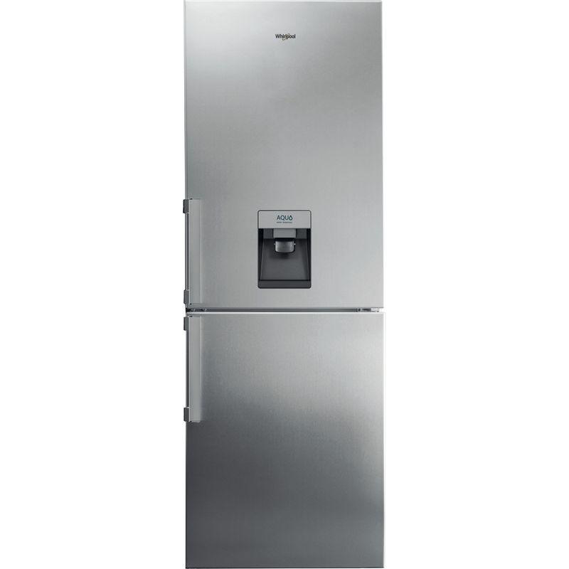 Whirlpool-Combine-refrigerateur-congelateur-Pose-libre-WB70I-952-X-AQUA-Optic-Inox-2-portes-Lifestyle-frontal