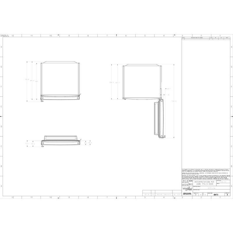 Whirlpool-Combine-refrigerateur-congelateur-Pose-libre-WB70I-952-X-AQUA-Optic-Inox-2-portes-Technical-drawing