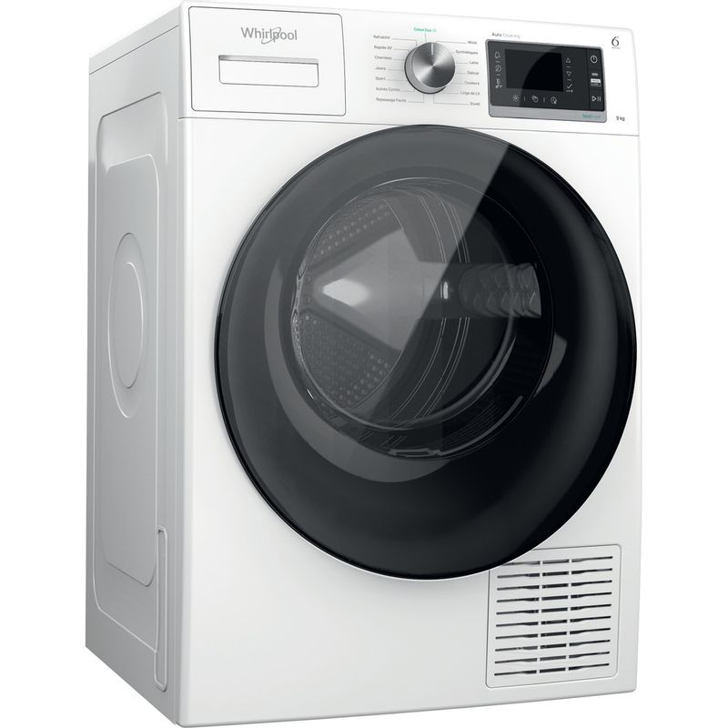 Whirlpool-Seche-linge-W6-D93WB-FR-Blanc-Perspective