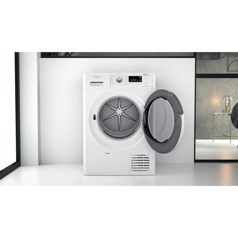 Whirlpool-Seche-linge-FFT-M11-8X3-EE-Blanc-Lifestyle-frontal-open